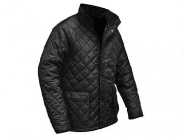 Black Quilted Jacket - XXL (52in)